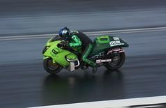 Turbo Hayabusa_3941 (Fast an' Bulbous) Tags: suzuki busa hayabusa moto motorcycle fast speed power acceleration drag strip race track santa pod nikon outdoor biker d7100 gimp