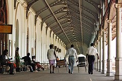 MOZ-Maputo-0703-27-v1 (anthonyasael) Tags: adult adultsonly africa african afrika arch arched arches bench black carry carrying chair column corrugated domesticlife iron man maputo mazambique men metallic mocambique mozambique patience people person pillar platform railroadstation railwaystation roof roofed southernafrica station topb travel wait waiting walk walking wall woman women mozambiquemocambique moz