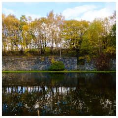Canal basin , Summerlee (wwshack) Tags: basin coatbridge monklandscanal museumofscottishindustriallife northlanarkshire scotland summerleeheritagepark summerleeindustrialheritagemuseum trees
