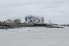 Going (Crusty Streets) Tags: tilbury power station demolition thurrock essex england uk regeneration river thames riverside