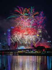Countdown Fireworks (BP Chua) Tags: mbsc2019 mbsc2019fireworks fireworks colours night nikon d850 marinabay marinabaysingapore marinabaysg