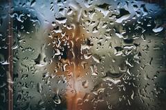Forever (Melissa Maples) Tags: antalya turkey türkiye asia 土耳其 亚洲 nikon d3300 ニコン 尼康 nikkor afs 1855mm f3556g 1855mmf3556g vr macro micro closeup 10diopter darkness glitch winter droplets raindrops rain water window lightleak