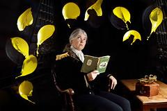 Broadside! (Apionid) Tags: yellow balloons bursting pop reading captainhornblower selfportrait bang werehere hereios nikond7000 gimp arduino highspeed