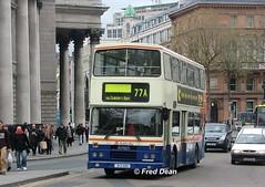 Dublin Bus RH107 (91D10107). (Fred Dean Jnr) Tags: april2005 dublin dublinbus busathacliath dublinbusbluecreamlivery leyland olympian alexander r collegegreendublin dublinbusroute77a rh107 91d10107 rend j830cev