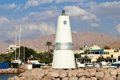 Jordan Aqaba (rolfij) Tags: jordan aqaba redsea memorial