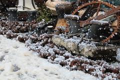 Snowy Dockside (charliejb) Tags: ssgreatbritain snow dockside 2018 bristol victorianchristmas