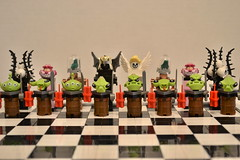 Order and Chaos Chess (PlasticPauper) Tags: lego chess board game