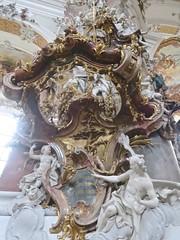 Ottobeuren (Micheline Canal) Tags: allemagne bavière maison église fleur sculpture
