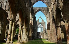 Tintern Abbey (Eddie Crutchley) Tags: europe uk wales historicbuilding tinternabbey ruins simplysuperb sunlight abbey tintern shadows blueskies greatphotographers astoundingimage
