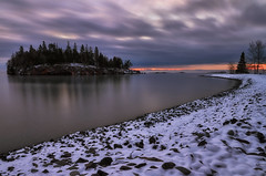 Morning On The Big Lake - Split Rock Lighthouse State Park, MN (j-rye) Tags: sonyalpha sonya7rm2 ilce7rm2 mirrorless landscape lakesuperior splitrockstatepark nature water clouds sunrise snow splitrocklighthousestatepark cold island longexposure lkg740 shoreline n4chm lsmg2792 lpmg2962