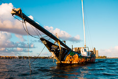 Atomik Sail Boat (sielsky) Tags: atomik miami sailing coconutgrove biscaynebay ocean nature abandoned colors canon