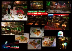 Wizard of Food Magic One 1 Collage (Gypsy's Stuff Shamblady) Tags: restaurant food place hangout delicious wizzard wizard batu imagic one 1 penang malaysia 2012 290912 ferringhi popular selamat datang collage