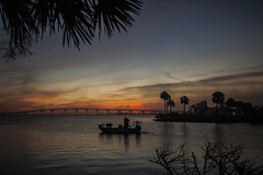 Going Fishing (mimsjodi) Tags: sunrise dawn titusvillefl marina water indianriverlagoon