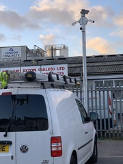 "4 x Hikvision Bullet IP Cameras Installed on the CCTV Column in Brentford, Hounslow, London. • <a style=""font-size:0.8em;"" href=""http://www.flickr.com/photos/161212411@N07/45402083834/"" target=""_blank"">View on Flickr</a>"
