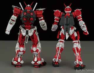 HiRM Astray Red Frame Gundam 17 by Judson Weinsheimer
