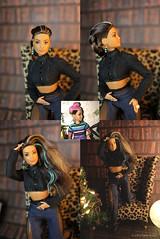 Reroot (lichtspuren) Tags: barbie fashionistahead styledbymarnisenofontebody reroot ooak doll goddessfacemold curvy lichtspuren