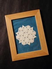Star Twist Tess (F. Wei) (Helyades) Tags: origami pli pliage fold hexagon star twist tessellation pavage ioio ioio2018 wei papier paper geometry geometrie