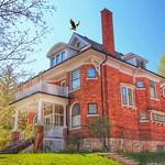 Orillia Ontario -  Canada - 82 Tecumseth Street - Historic Mansion - The Macnab House -  Landing Eagle thumbnail
