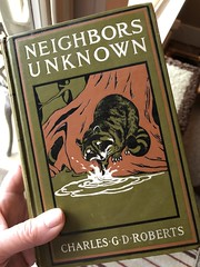 Neighbors Unknown (ruthlesscrab) Tags: roberts canada canadian author book cover literature canlit raccoon story wah werehere hereios reading