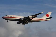 20-1101 Beoing 747-47C JASDF (FokkerAMS) Tags: boeing747 japanairselfdefenceforce jasdf 201101