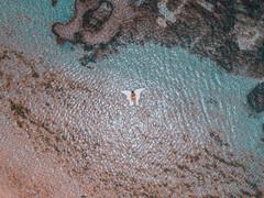Angel (FOXTROT ROMEO) Tags: dji mavic mavicpro drone drohne aerial sky fly ocean water cristal clear meer angel swimm swim people bali indonesia