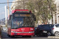 CITY trolley (MHU823) Tags: škoda solaris budapest bkk bkv troli citytroli