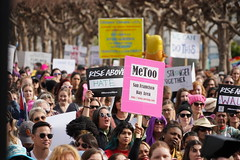Woman's March 2019 (Lynn Friedman) Tags: signs crowd metoo womansmarch politics gender equality resistance sanfrancisco california usa 94102