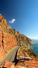 Chapman's Peak drive (naturesarte) Tags: road drive scenic mountains landscapes capetown southafrica coast travel holiday landscape mountain sea ocean sky