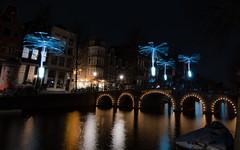 Amsterdam Light Festival (tomaszbaranowski007) Tags: amsterdamlight light festival amsterdam night city water reflections sigma 1020 d5500 nikon nikond5500 longexposure urban