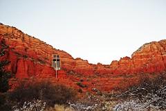 IMG_2867 (Karen Wilson Hagy) Tags: sedona redrocks oakcreekcanyon snow desert muledeer antlers clouds arizona