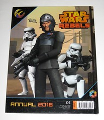 star wars rebels annual 2016 egmont uk limited 2015 book b (tjparkside) Tags: star wars rebels annual 2016 book books ezra bridger kanan jarrus chopper c110p c1 10p droid droids tie fighter lightsaber lightsabers stormtrooper stormtroopers agent kallus egmont uk limited 2015 disney lucasfilm story stories trivia puzzle puzzles game games isbn 9781405278003
