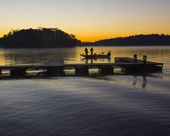 Sunrise fishing trip (Yer Photo Xpression) Tags: ronmayhew sunrise lake lakelanier boat dock fishing water canoneos5dmarkiv