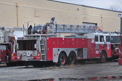 Ex-FDNY Ladder 705 (Triborough) Tags: nj newjersey middlesexcounty eastbrunswick fdny newyorkcityfiredepartment firetruck fireengine ladder ladder705 seagrave