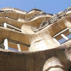 World Heritage: Casa Milà III (hansn (4+ Million Views)) Tags: casa milà mila architecture modernist modernista arkitektur modern world heritage världsarv lapedrera antoni gaudí architect arkitekt barcelona