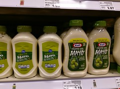 Brand knock offs, olive oil mayo (l_dawg2000) Tags: 2000s 90s albertsons food grocery hornlake kroger krogerremodel labelscar meats mississippi ms produce remodel remodeled retail retailconversion schnucks seessels supermarket unitedstates usa