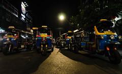 Bangkok, The madness that is Khao san road. (gubryel) Tags: bangkok thailand nightphotography streetphotography bangkokstreetphotography wideangle democracy khaosanroad flashstreetphotography