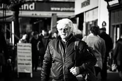 Street Portrait (Bury Gardener) Tags: monochrome mono burystedmunds bw blackandwhite britain 2019 england eastanglia uk nikond7200 nikon suffolk streetphotography street streetcandids snaps strangers candids candid people peoplewatching folks cornhill