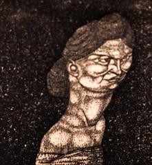 Charm [Feminine Grace] (Thomas Hawk) Tags: america california charmfemininegrace museum paulklee paulkleeportraits sfmoma sanfrancisco sanfranciscomuseumofmodernart usa unitedstates unitedstatesofamerica artmuseum fav10