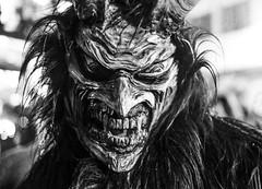 Percht (CoolMcFlash) Tags: percht perchtenlauf sankt wolfgang st upperaustria austria tradition portrait horror face mask bnw bw blackandwhite blackwhite fujifilm xt2 spooky oberösterreich österreich fear angst gesicht maske sw schwarzweis fotografie photography xf35mmf14 r