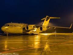 Qatar Emiri Air Force MAM HAJ at Night (U. Heinze) Tags: aircraft airlines airways airplane flugzeug plane planespotting night nightshot olympus haj hannoverlangenhagenairporthaj eddv