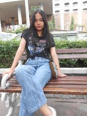 DSCN8870 (Avisheena) Tags: avisheena model hello world jeans black outfit aesthetic girl tumblr photograph