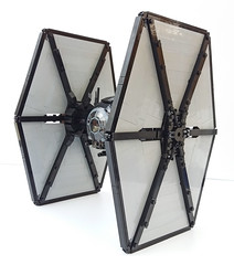 Wing detail (Rubblemaker) Tags: star wars starwars lego building blocks first order tie fighter