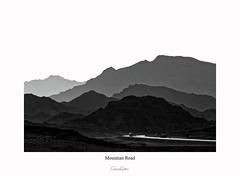 Mountain road (Graeme Gordon) Tags: mountain mood moody mono uae art blackwhite bw landscape landscapephotography photography fujifilm fujifilmxt2 fineart