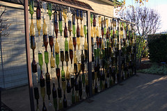 Bottle Wall (JB by the Sea) Tags: yountville napavalley napa winecountry california december2018 winery vineyard cliffledevineyards