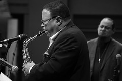 Bruce Williams and Steve Turre (Narratography by APJ) Tags: apj events jazz jerseycity live music narratography nj photography riverviewjazz