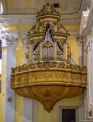 Campagna (SA), 2019, La Cattedrale di Santa Maria della Pace: l'organo. (Fiore S. Barbato) Tags: italy campania campagna monti picentini valle sele fiume tenza cattedrale maria pace organo organ