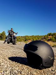 Buscando mi destino. (Ricardo Pallejá) Tags: motero moto suzuki carretera road biker custom samsung easyrider