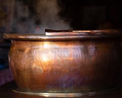 Kettle colour (paul indigo) Tags: paulindigo colour copper kettle market spicy steam travel warm wine