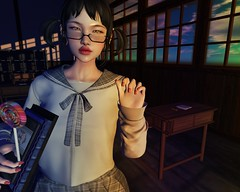 † M 41 † (BillitaUnderZone) Tags: iyf inyourface barberyumyum amitomo sweetlies girl cute catya bento post avatar secondlife sl newreleases new fashion catwa school virtual