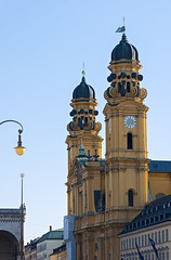 Towers (Dmitry Shakin) Tags: munich germany munchen church tower theatinerkirche